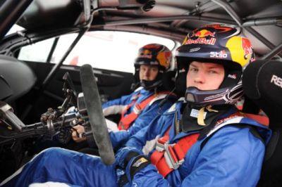 Kimi Raikkonen al volante di C4 WRC le immagini ufficiali 00
