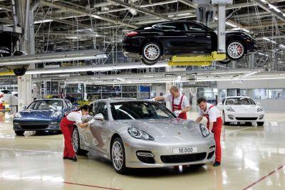 Porsche Panamera Turbo - Lipsia