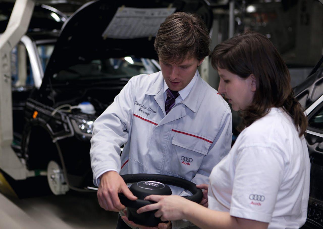 Audi A1: video ed immagini del processo di produzione