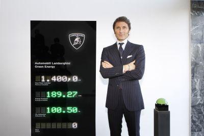 Automobili Lamborghini inaugurato il nuovo impianto fotovoltaico a Sant'Agata Bolognese 00