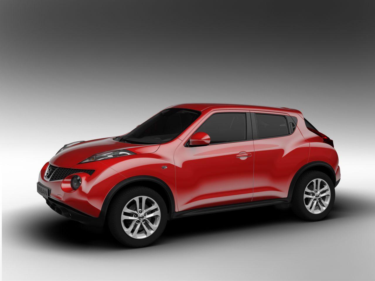 Nissan Juke: immagini ufficiali e caratteristiche del nuovo crossover compatto