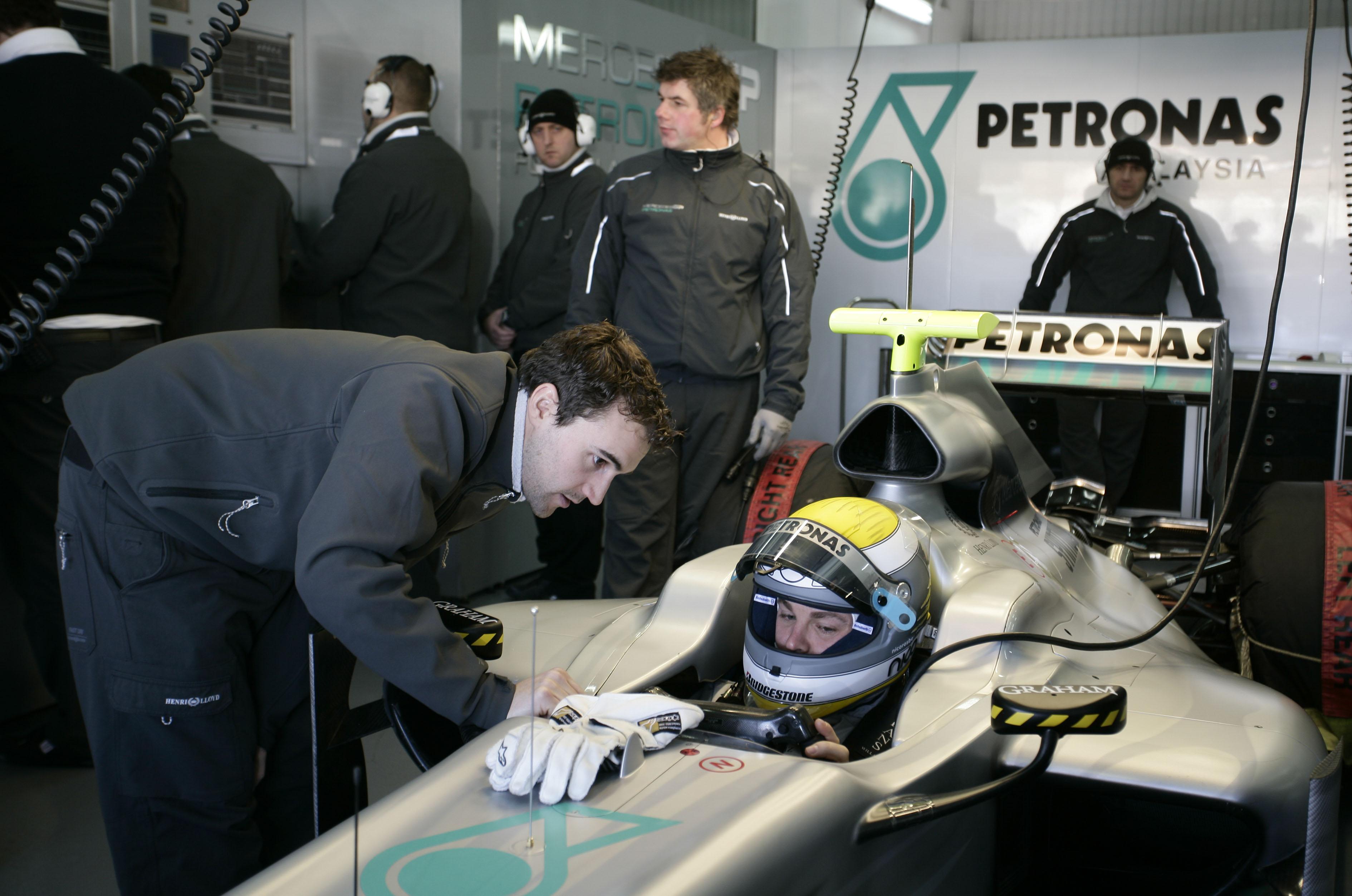 Seconda giornata di prove a Valencia: Massa il più veloce