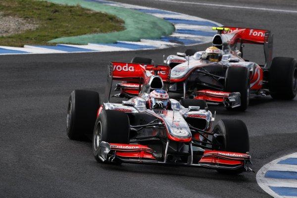 F1: le immagini e i risultati dei test di Barcellona
