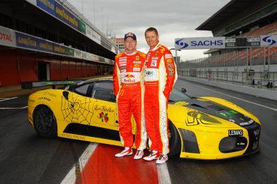 Ferrari 430 Scuderia GT2 primi test 2010 per i piloti Kessel Racing 00