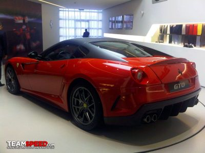 Ferrari 599 GTO prime foto senza veli 00