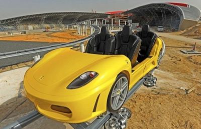 Ferrari World Abu Dhabi il video del mega parco tematico