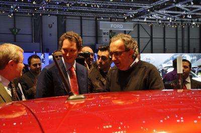 Ginevra 2010: nuovo Fiat Twin-Air e dichiarazioni dell'ad Marchionne su crisi, alleanze e Termini Imerese