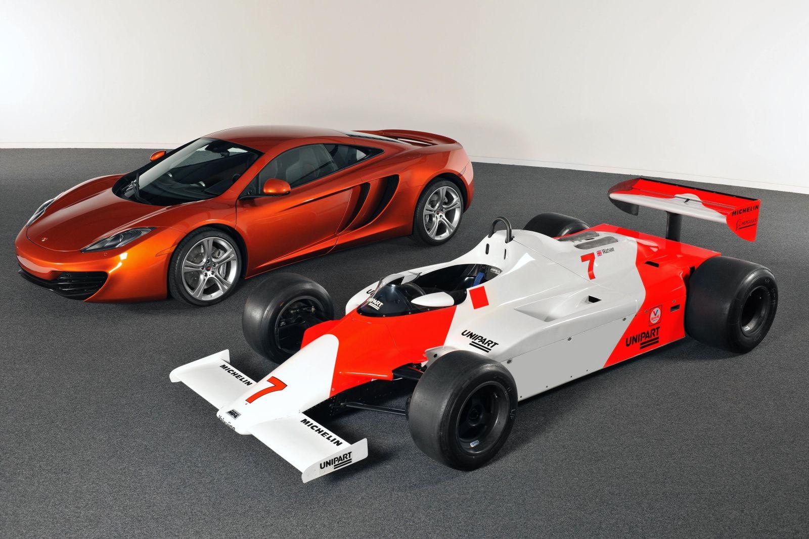 McLaren MP4-12C, rivale della Ferrari 458 Italia