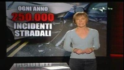 Report.rai.it: 250.000 incidenti stradali l'anno, significativa indagine sull'educazione stradale