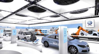 Fiera di Hannover Volkswagen espone le tecnologie per l'ambiente e la mobilità sostenibile 00