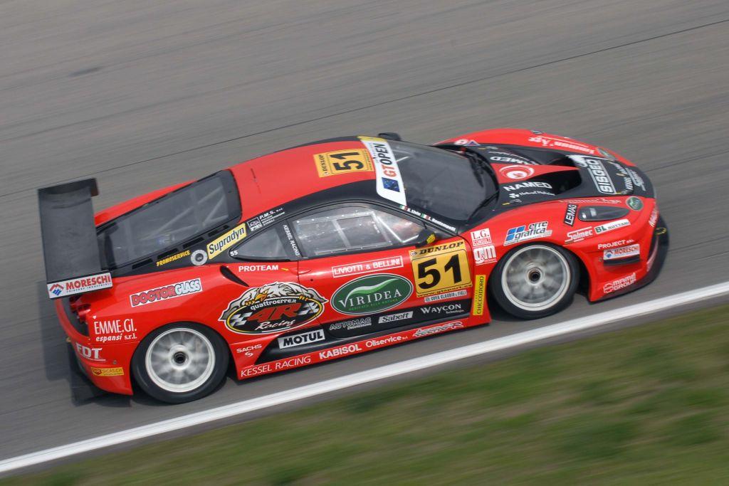 """GT OPEN: Kessel Racing pronta a combattere  al """"Ring"""" con le sue Ferrari 430"""