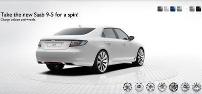 Nuova Saab 9-5 disponibile il configuratore online