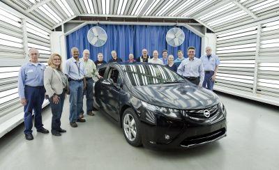 Opel Ampera iniziata la pre-produzione