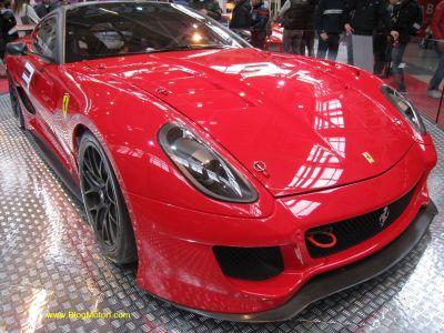 Record della Ferrari 599XX al Nürburgring 00