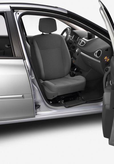 Renault: sedile passeggero girevole che migliora l'accesso a bordo