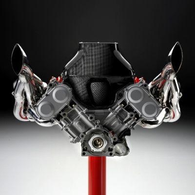 In vendita a 55.000,00 euro il motore della Ferrari F2002
