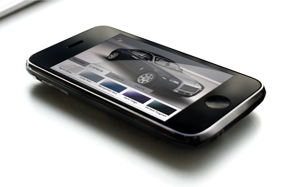Rolls-Royce Ghost disponibile l'app per iPhone e iPod touch