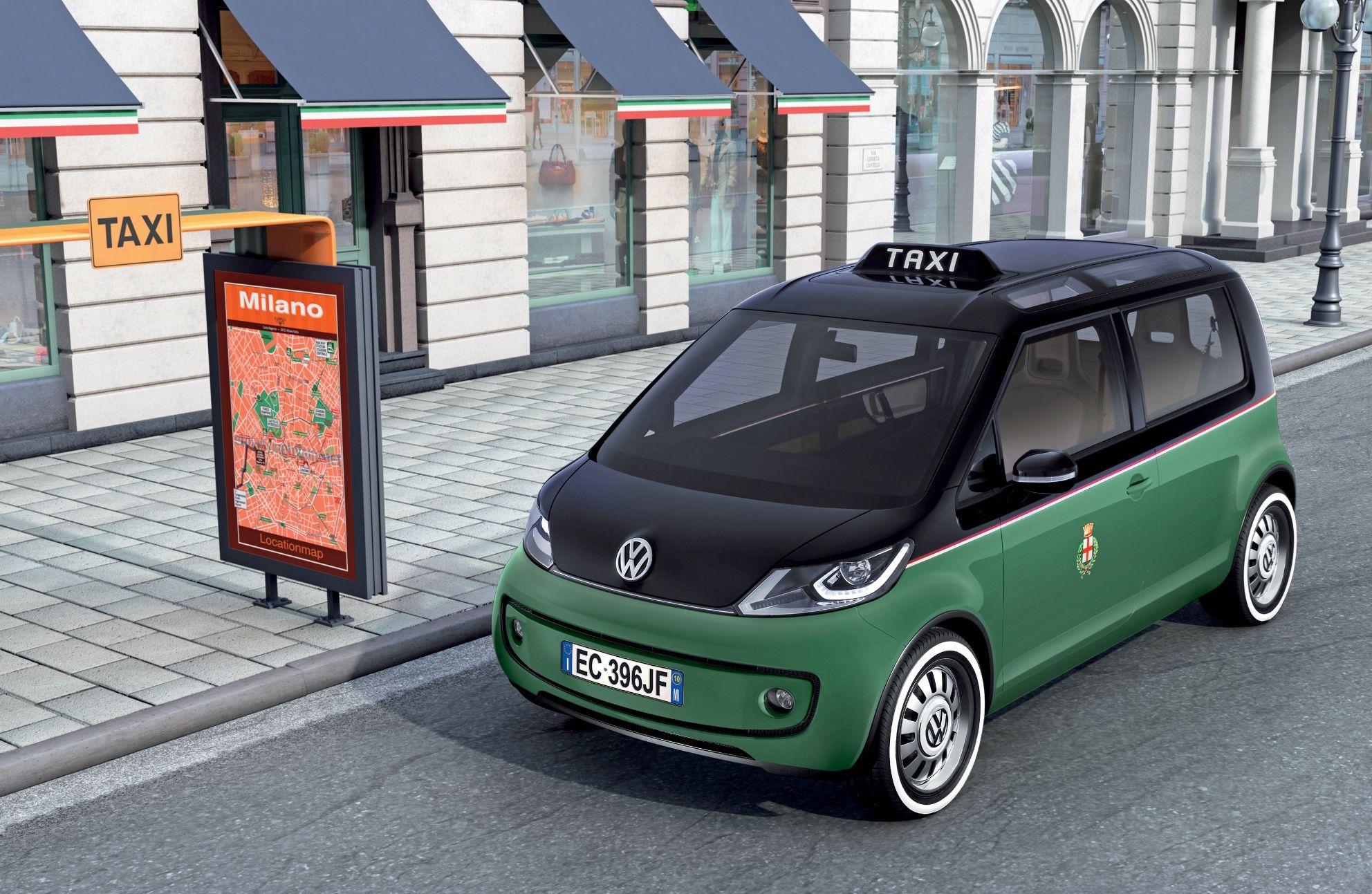 Concept car Milano Taxi: la Volkswagen presenta lo studio del taxi a emissioni zero