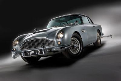 All'asta la celebre Aston Martin DB5 di 007 Missione Goldfinger