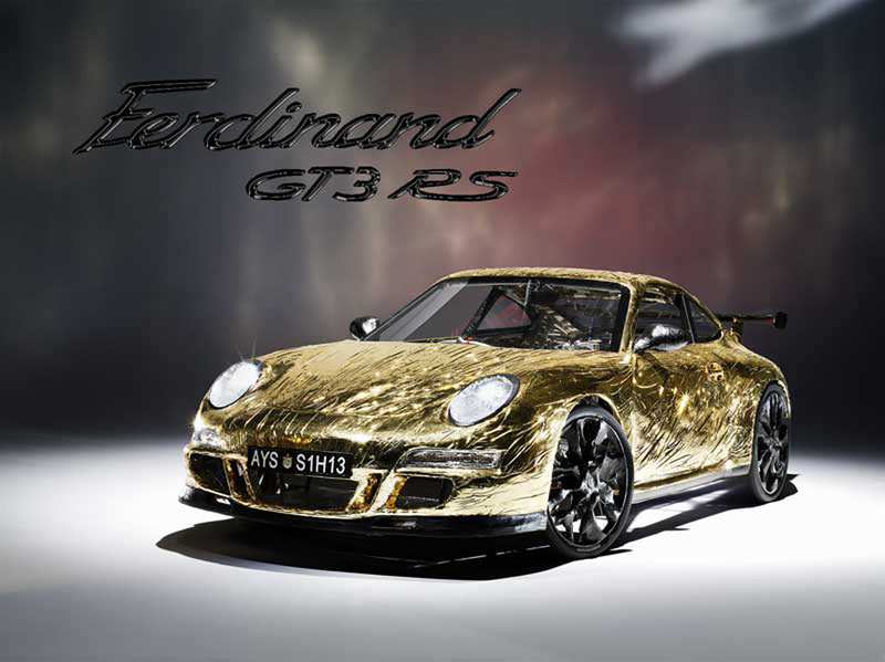 """Ferdinand GT3 RS: la """"Porsche"""" 911 che va a pedali"""