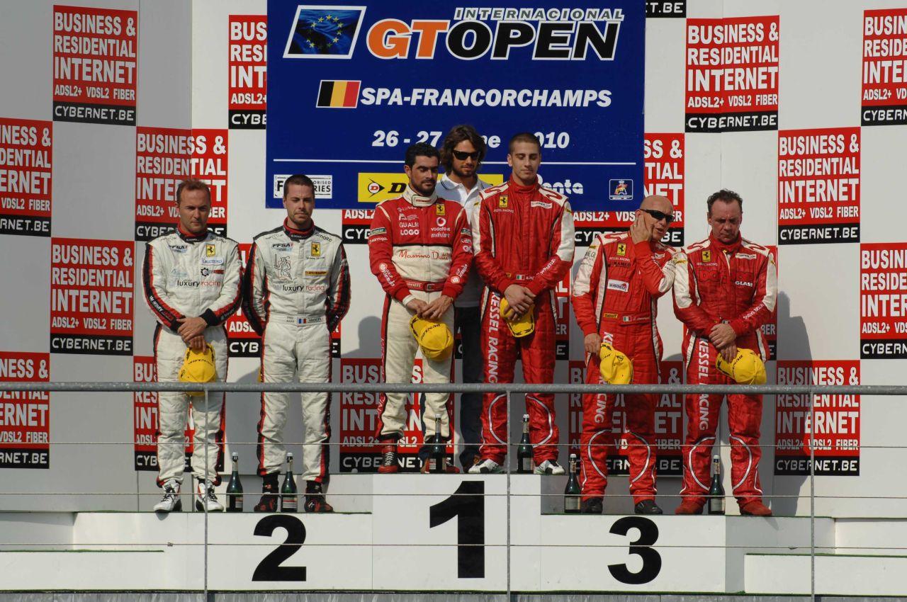 Kessel Racing: le immagini delle Ferrari GTS dalla pista di Spa