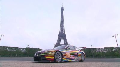 Svelata al Centre Pompidou la BMW Art Car by Jeff Koons