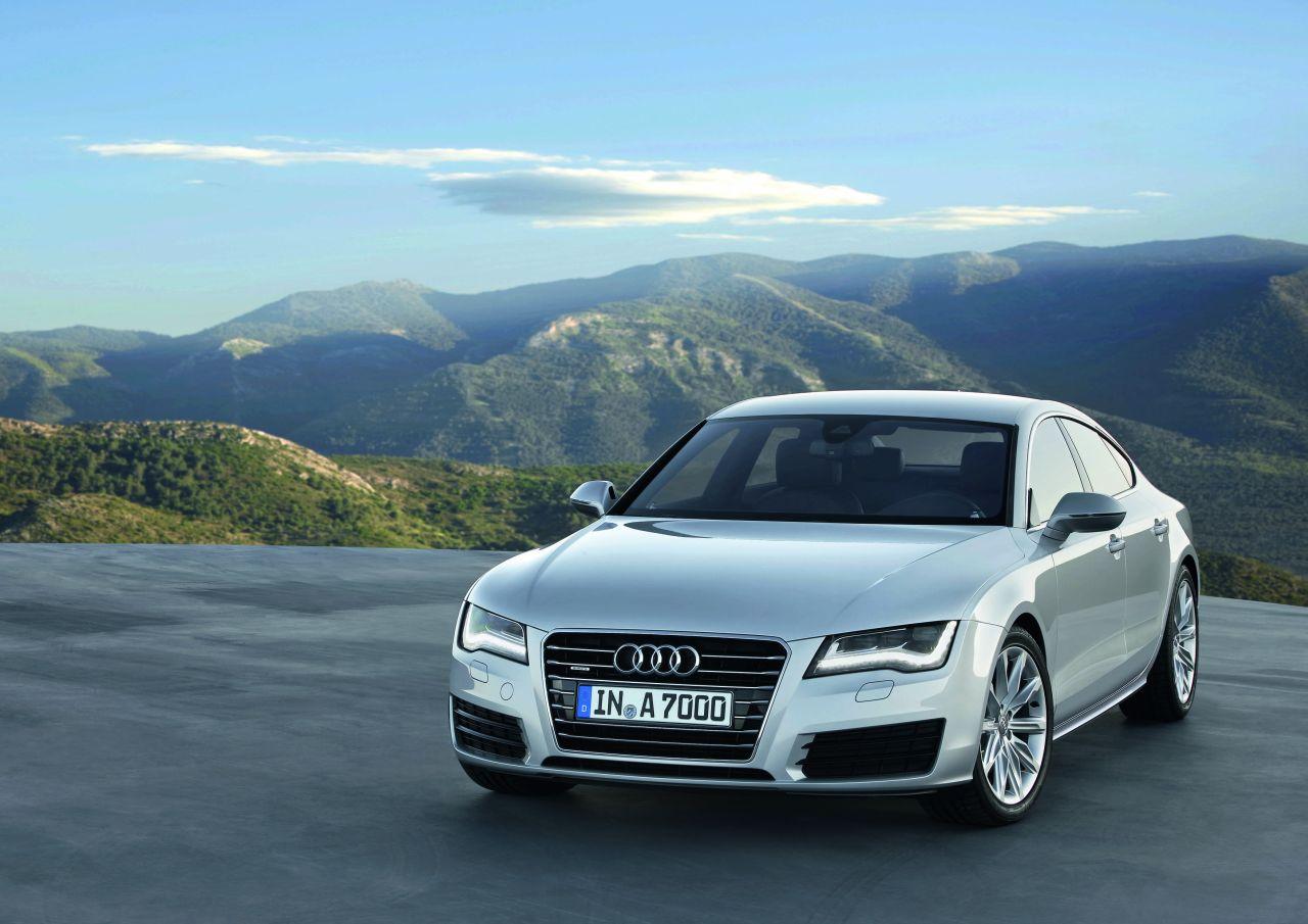 Audi A7 Sportback: immagini ufficiali, caratteristiche e prezzi
