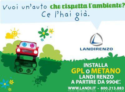 Campagna promozionale Landi Renzo SpA, una società vincente nella produzione di impianti a gas metano e Gpl