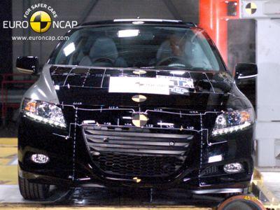 EuroNCAP Crash Test per Honda CR-Z, Citroen C4, Hyundai ix35 e Suzuki Swift