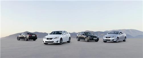 Lexus IS 200d, IS 220d e IS 250: a Parigi l'aggiornamento 2011