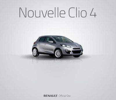 Renault Clio 4 prima immagine ufficiale