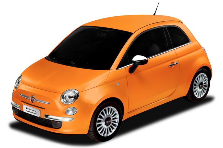 Fiat 500 Arancia: 100% Italian Juice, ma sono per il Giappone