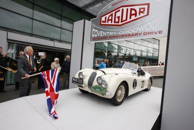 Jaguar il 23 settembre 2010 ricorre il 75 anniversario del marchio
