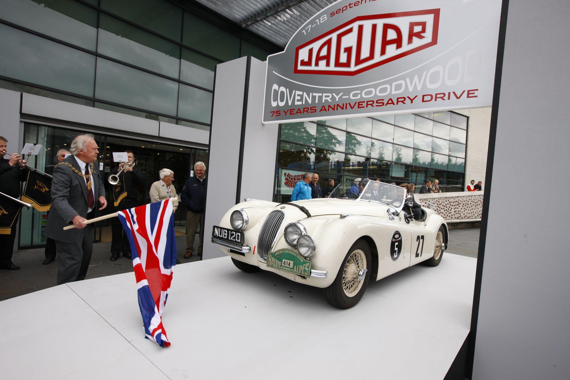 Jaguar: il 23 settembre 2010 ricorre il 75° anniversario del marchio
