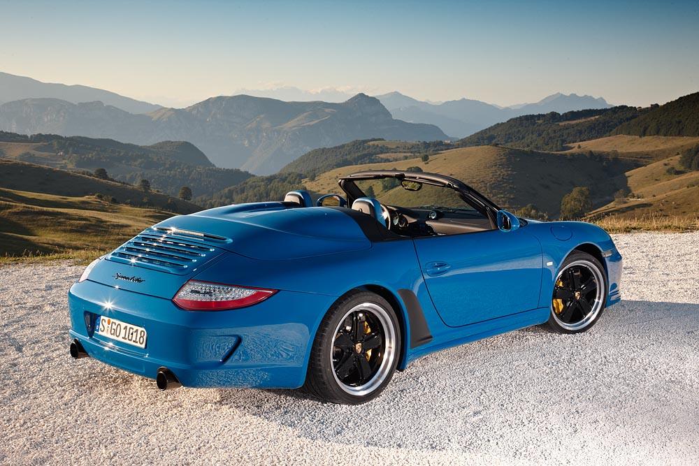 Porsche 911 Speedster: tutte le immagini ufficiali