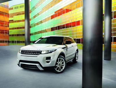 Range Rover Evoque tutte le immagini ufficiali