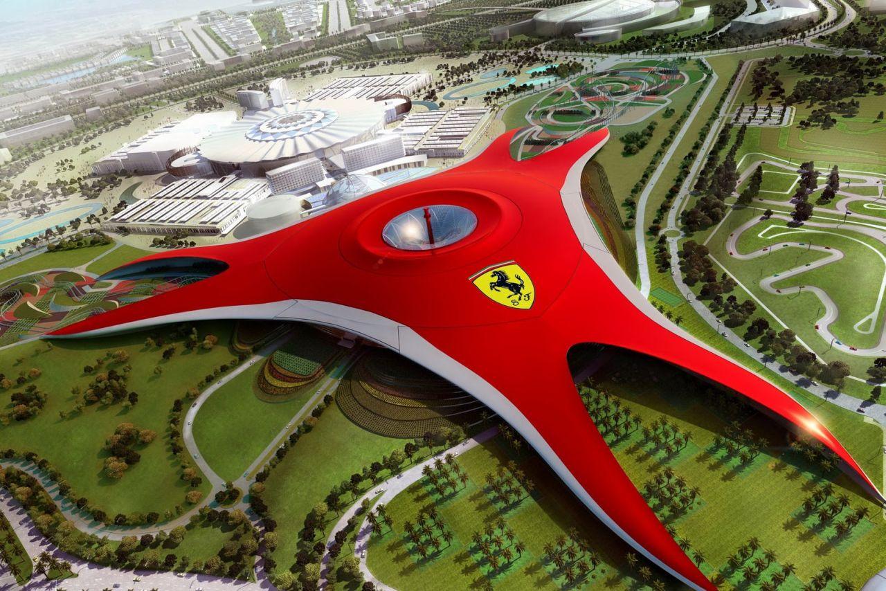 Ferrari World Abu Dhabi: tutte le fantastiche attrazioni, create per raccontare la storia, la passione, l'eccellenza, le performance e le innovazioni tecnologiche di Ferrari