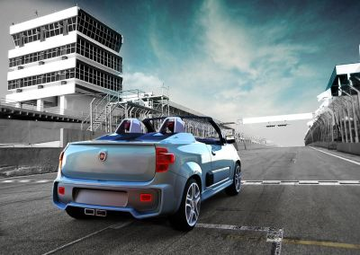 Fiat Uno Cabrio e Sporting protagoniste del Sao Paulo International Automobile Trade Show