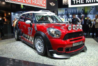 MINI WRC a Parigi esposta la nuova vettura da rally su base Countryman