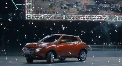 Nissan Juke 120 secondi di pura energia nel nuovo Spot TV