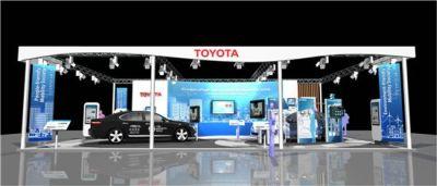 Toyota partecipa al 17° congresso mondiale sui sistemi intelligenti di trasporto a busan in Corea