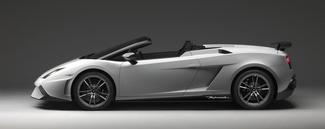 Lamborghini Gallardo LP 570-4 Spyder Performante: immagini e caratteristiche ufficiali