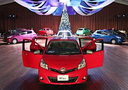 Toyota Yaris 2011: tutte le immagini da Yokohama