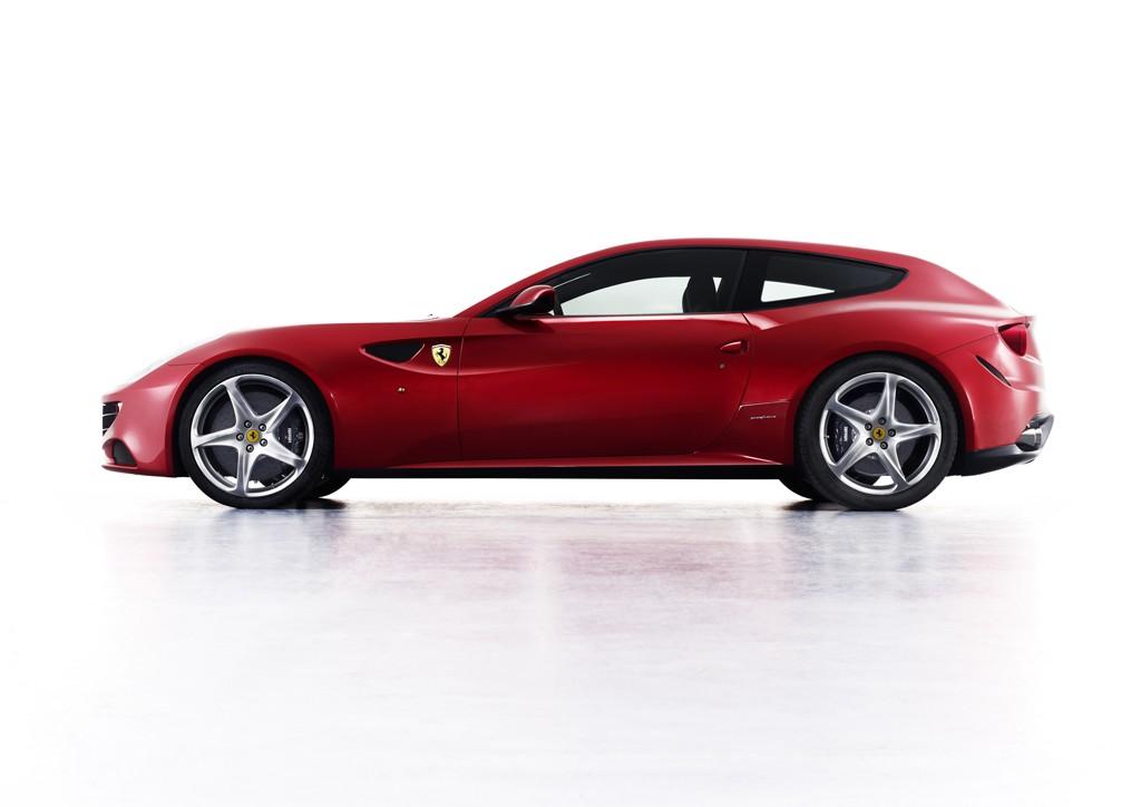 Ferrari Four: prime immagini live