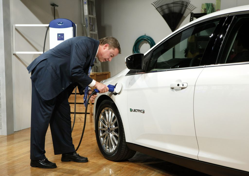 Ford Focus Electric: tutte le immagini ufficiali