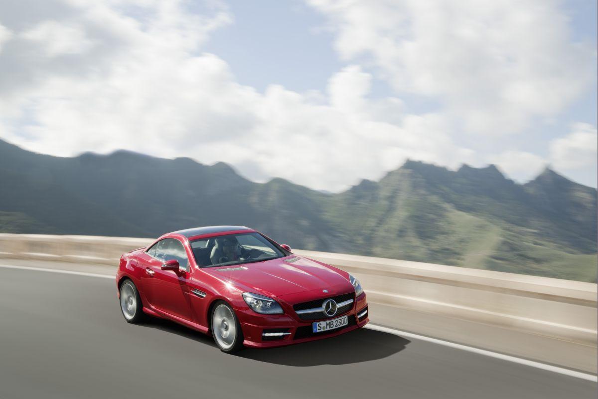 Mercedes SLK 2011: trendsetter già al primo sguardo