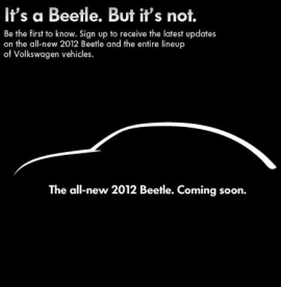 New Beetle 2012 prime anticipazioni durante il Super Bowl XLV