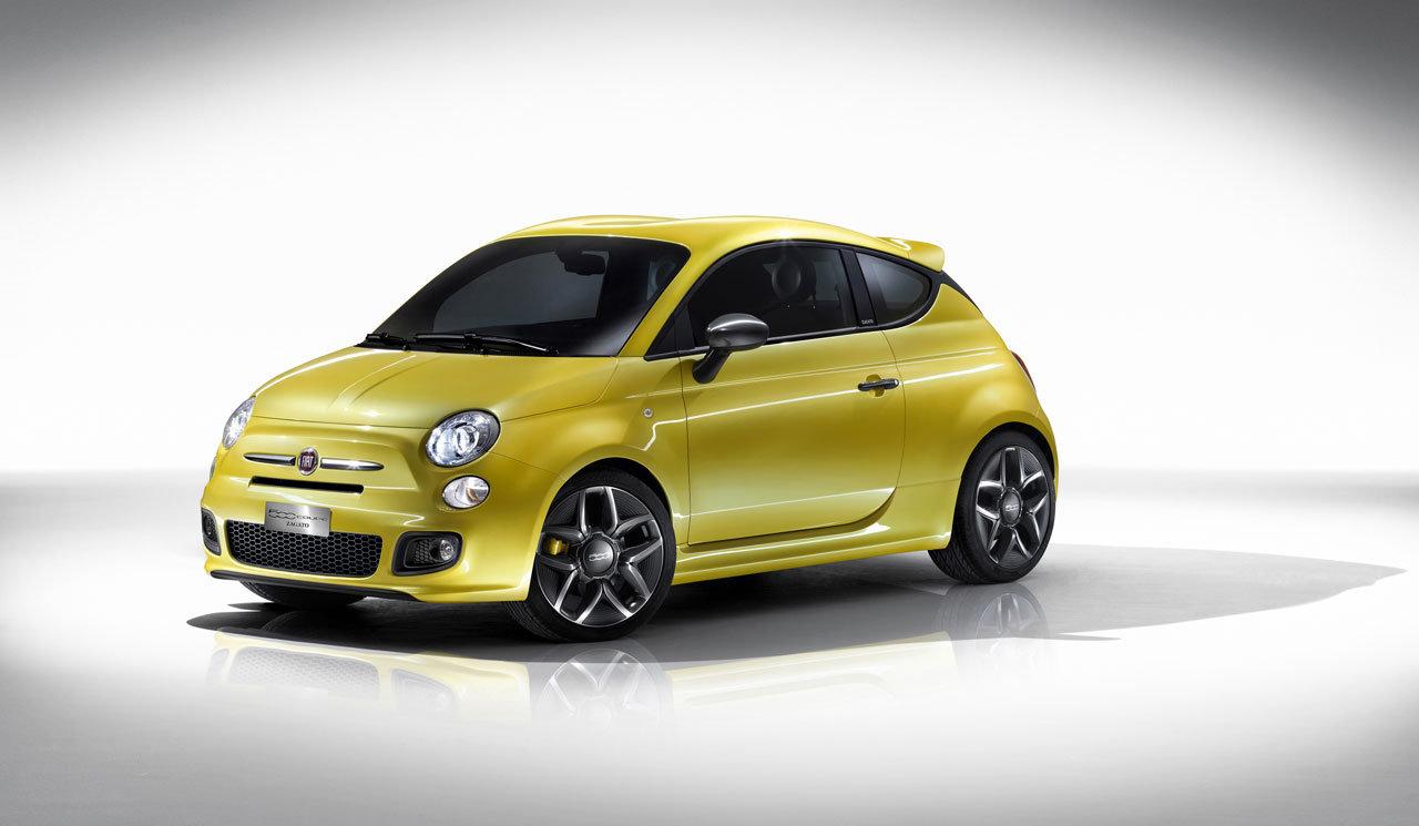 Fiat 500 coupé firmata Zagato