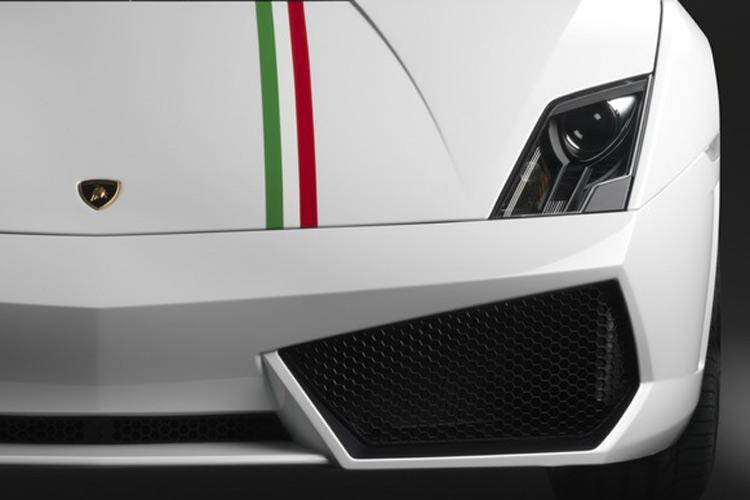 Lamborghini Gallardo Tricolore: caratteristiche tecniche