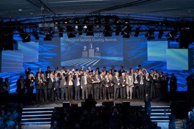 Peugeot Service Quality Award